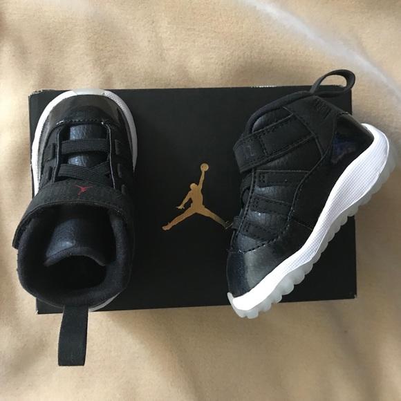 ea30de787d8f6 Jordan 11 retro baby boy shoes NWT